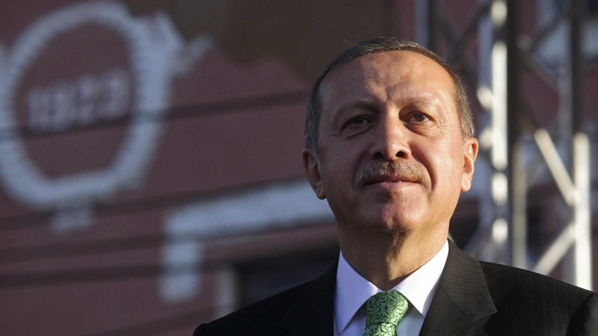 Erdogan afirma ter partilhado gravações com Riade, Washington e Paris