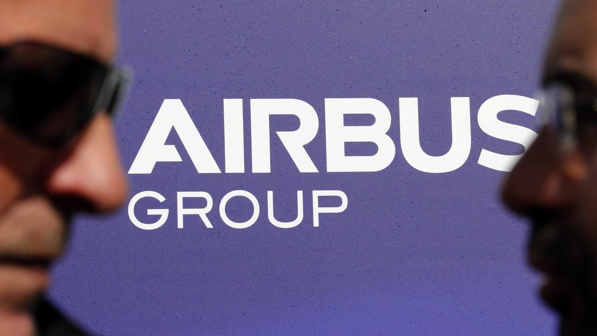 Grupo Airbus multado em 104 milhões de euros em litígio com Taiwan