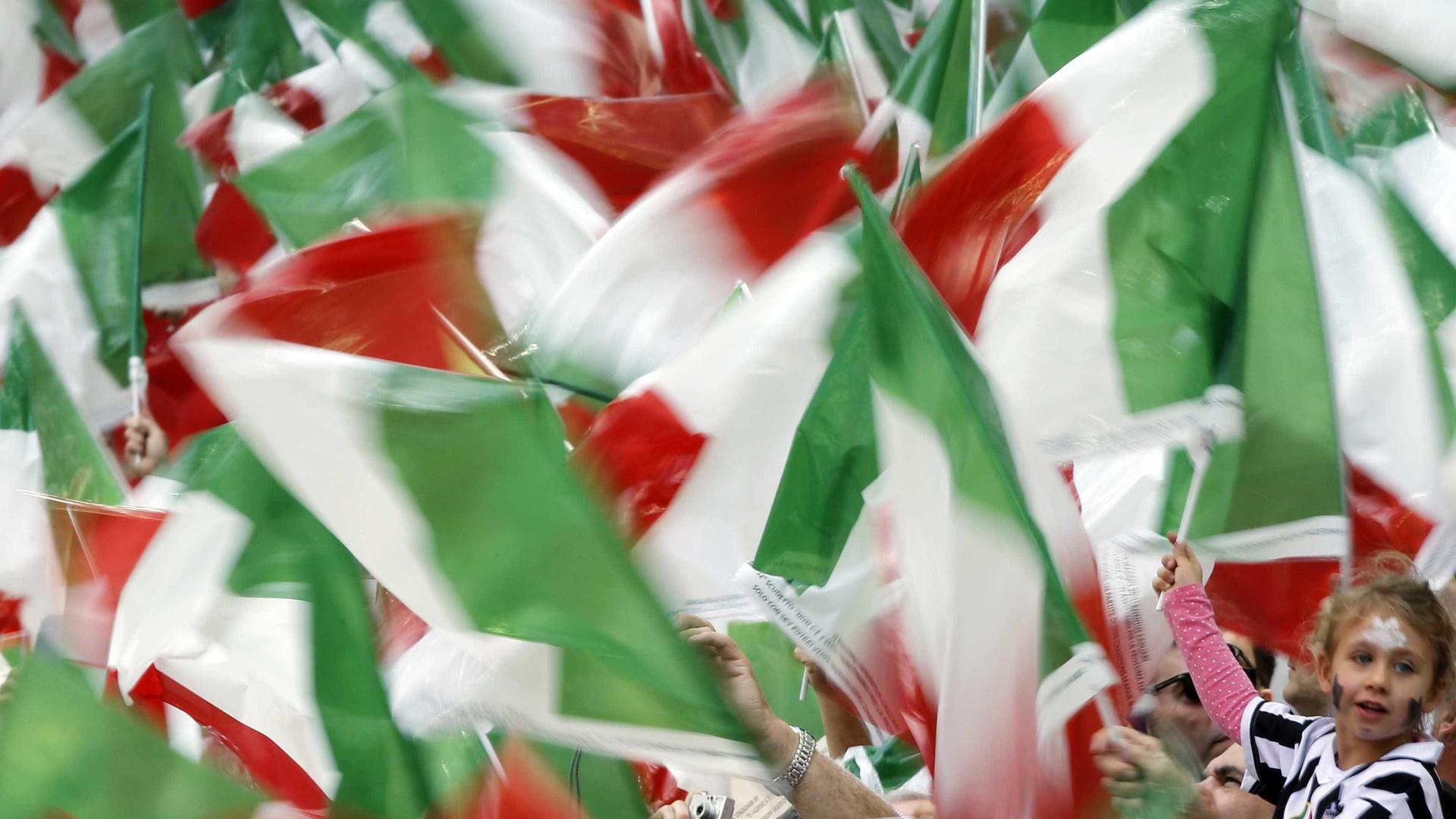 PIB de Itália cresce 1,3% em 2018 e abranda para 1,1% em 2019