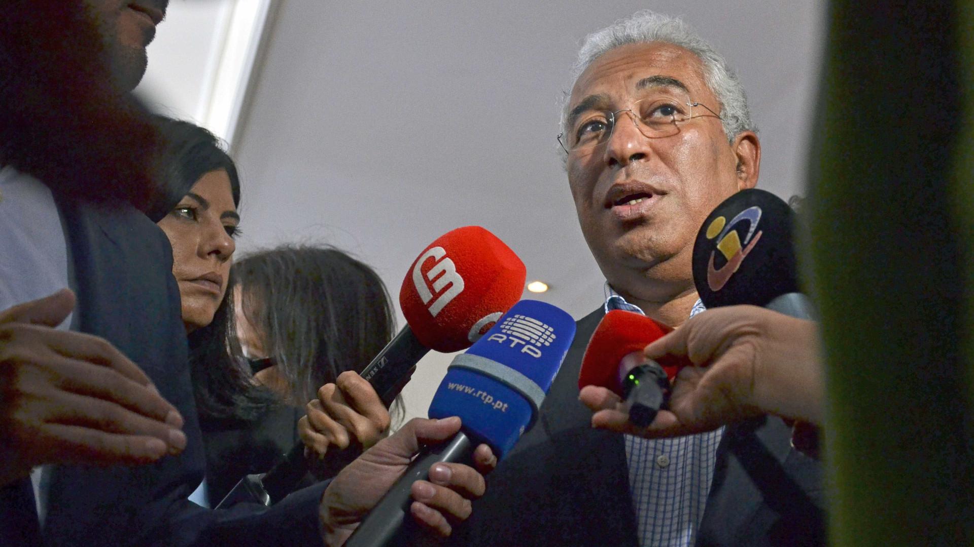 Costa afasta isenção de penalizações para carreiras com 40 anos