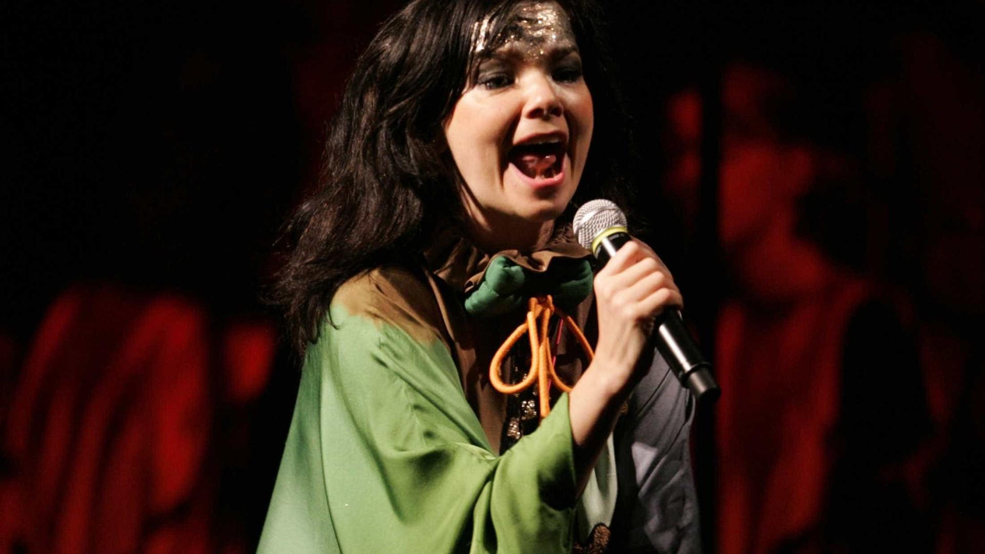 """Cantora Björk anuncia novo disco para """"muito em breve"""""""