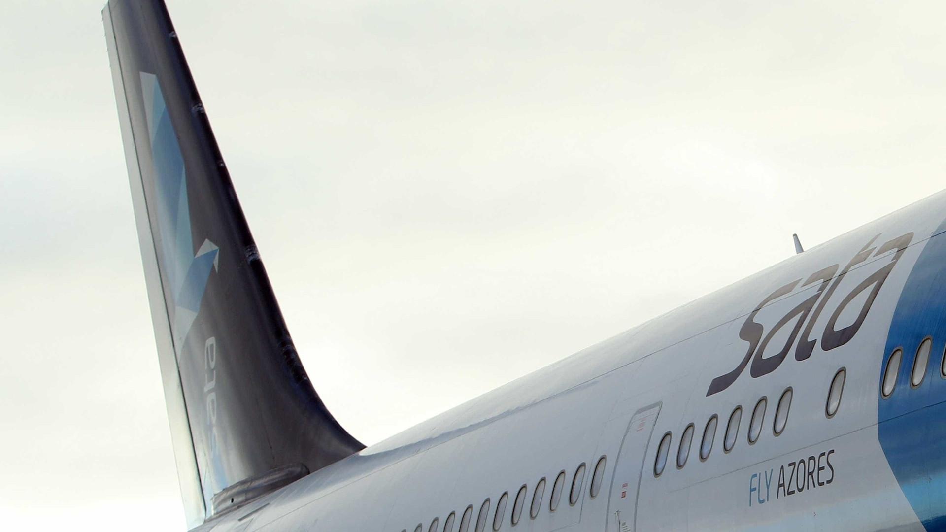 Avião da SATA Air Açores divergiu para o Faial devido ao mau tempo