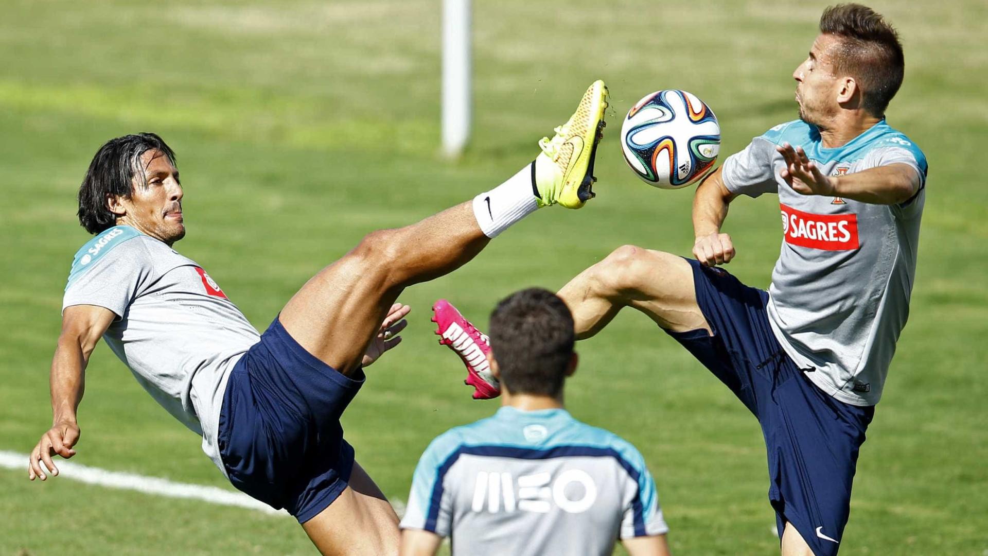 Bruno Alves em dúvida para jogo com EUA