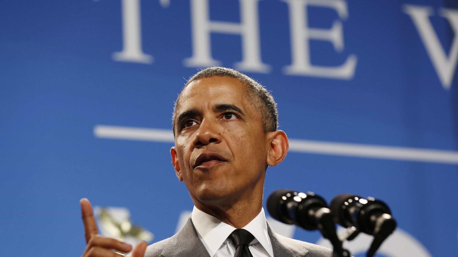 Serviços secretos investigam pó branco enviado para gabinete de Obama