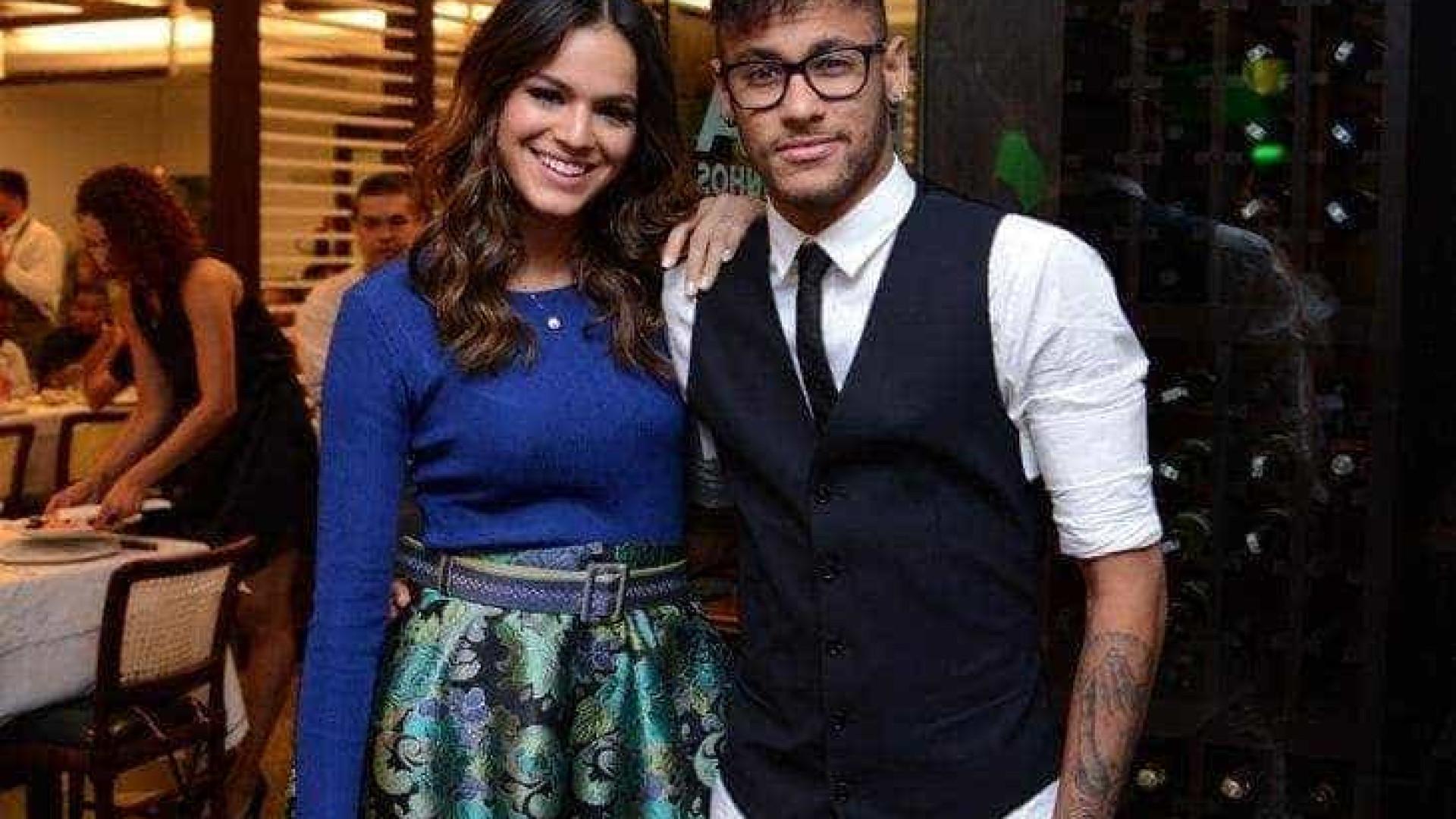 """Neymar lembra primeira conversa com Marquezine: """"Ela deu em cima de mim"""""""