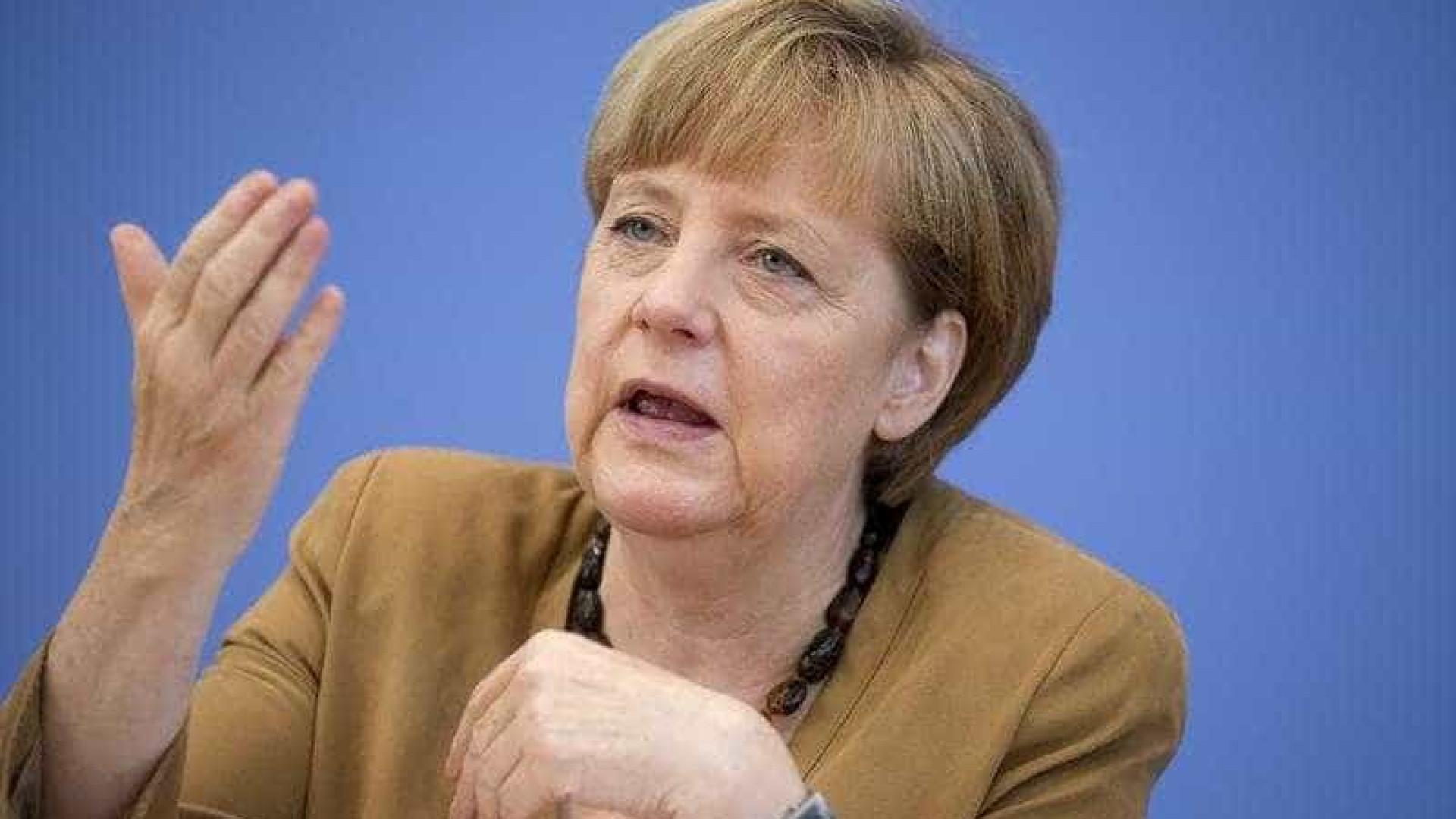 Merkel e Abe defendem comércio livre e acordo UE/Japão