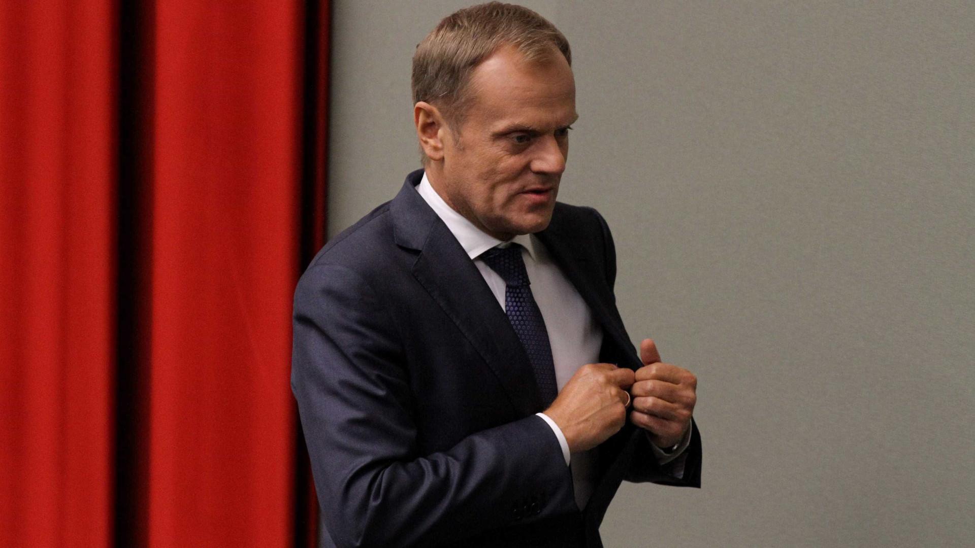 Donald Tusk pede a Puigdemont que não declare a independência