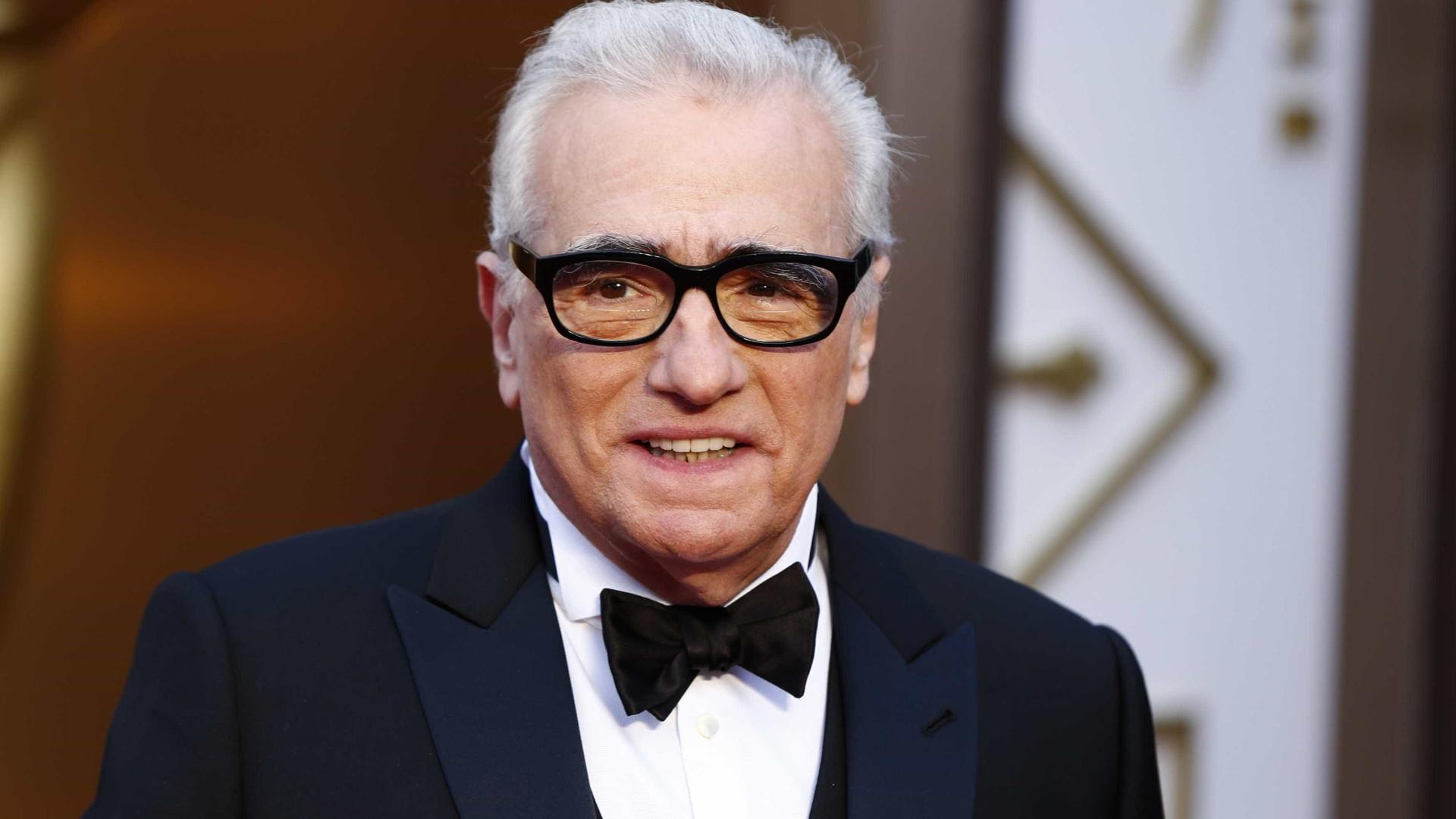 Papa recebe realizador Martin Scorsese após apresentação de filme em Roma