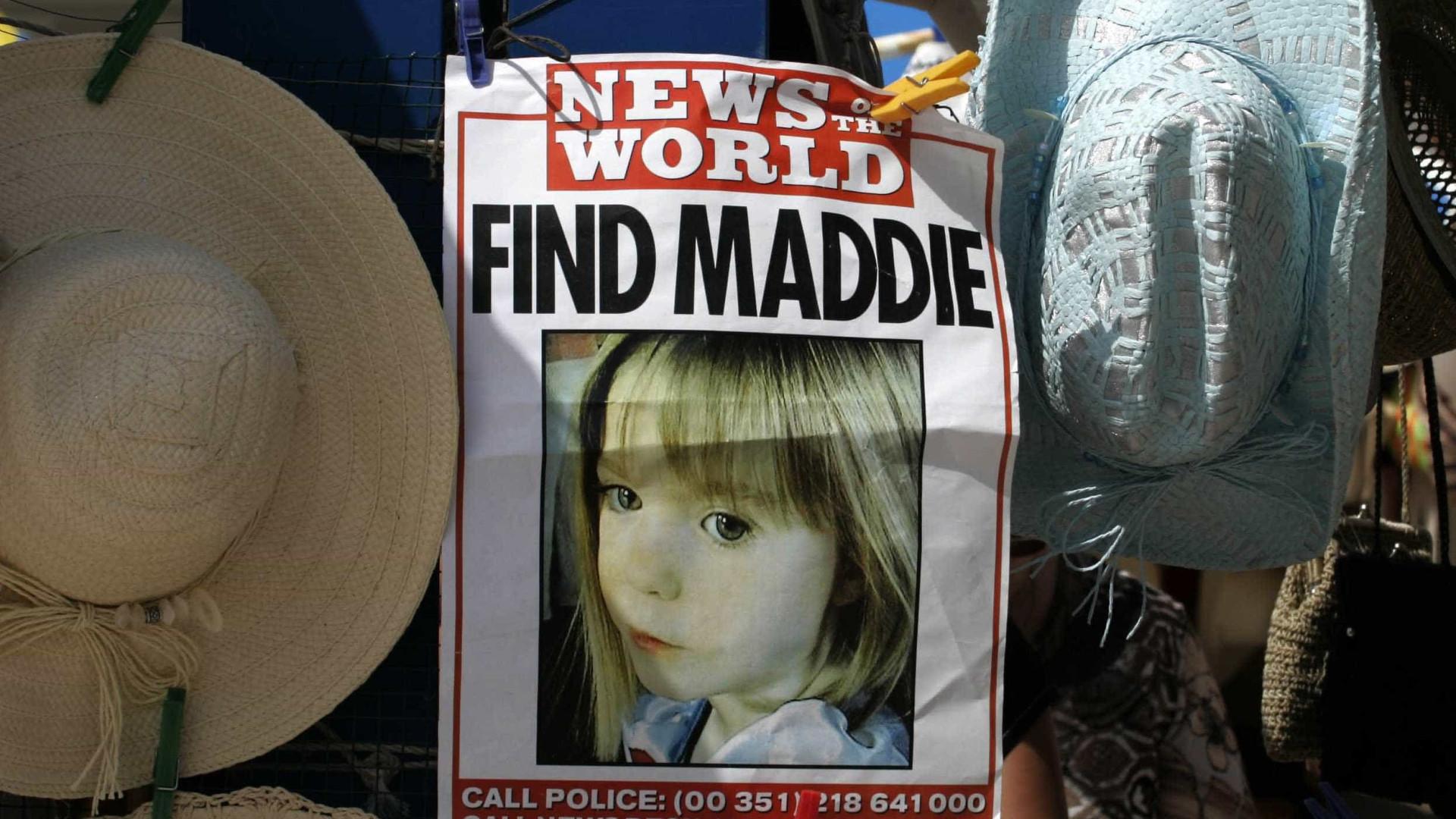 Maddie: Polícia procura mulher que será testemunha chave no caso
