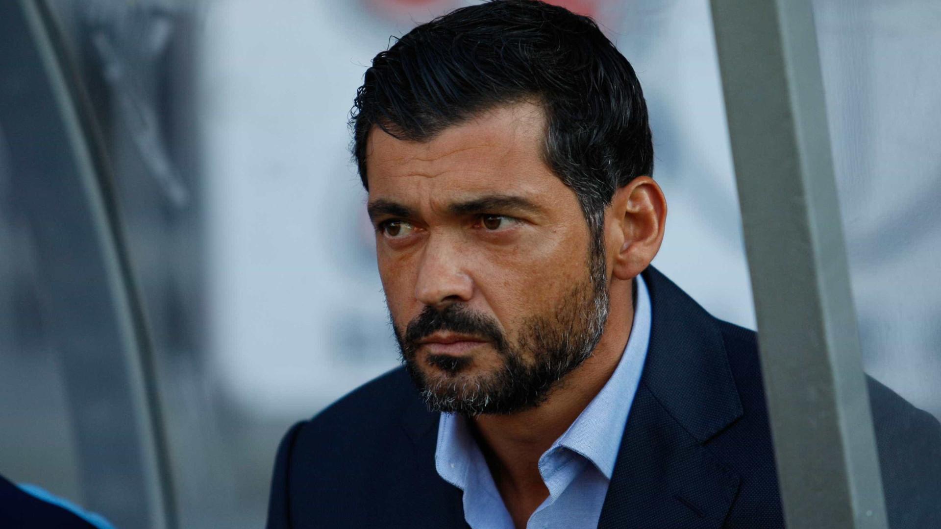 Lazio junta-se ao Standard Liège na corrida por Sérgio Conceição