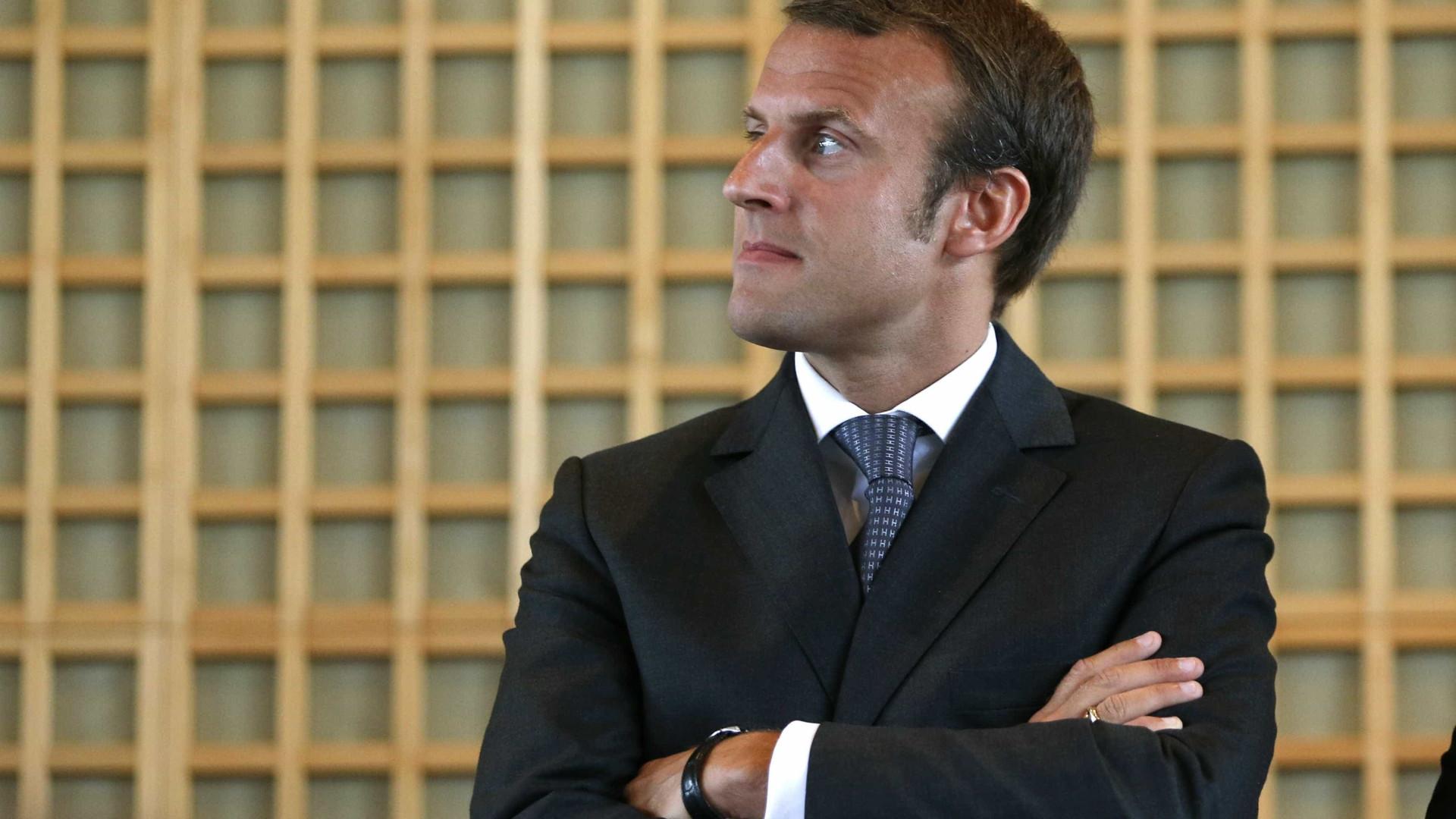 "FMI saúda reformas ""ambiciosas"" de Macron"