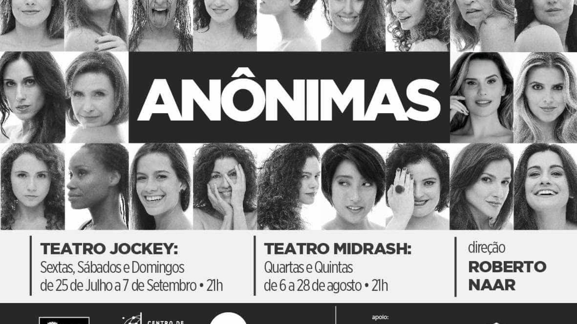 Atriz portuguesa põe universo feminino em cartaz no Brasil
