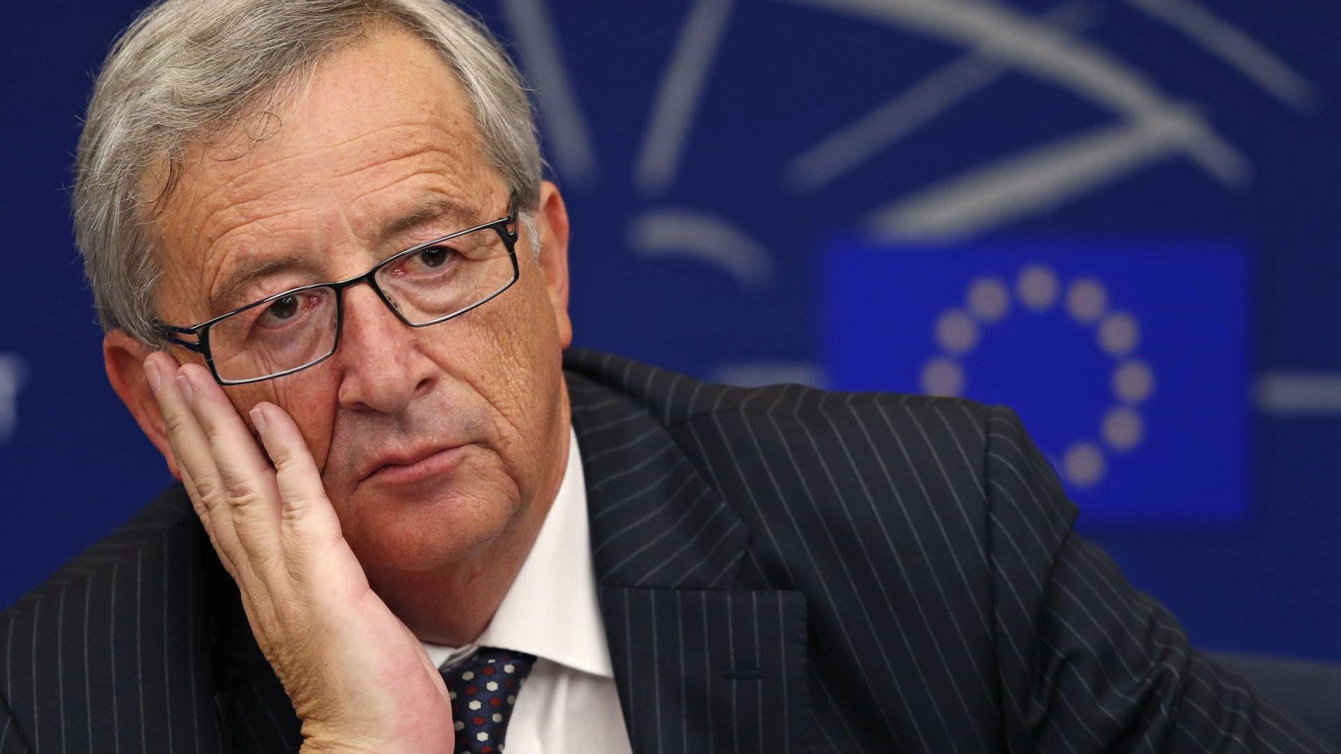 """Juncker volta a rejeitar """"cortes brutais"""" na política de coesão e na PAC"""