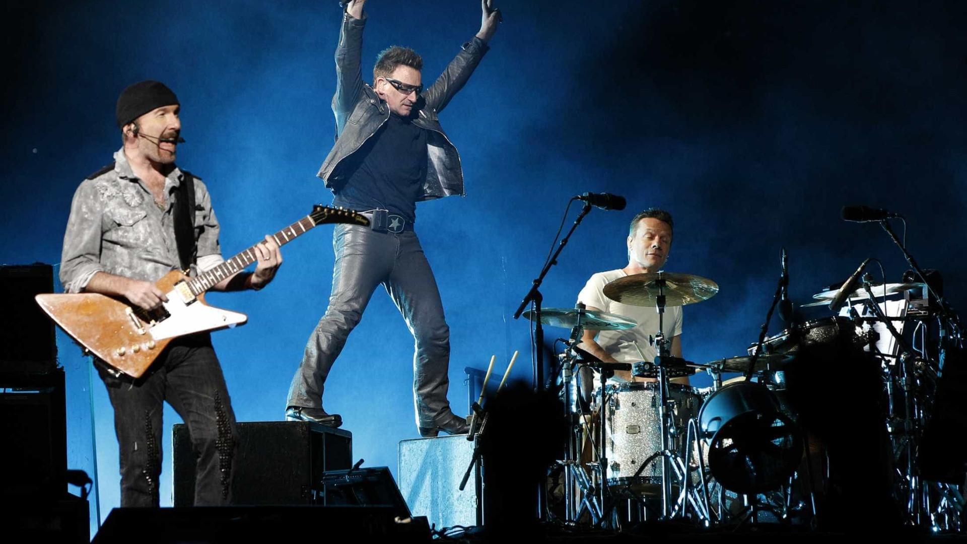 Bilhetes dos U2 só podem ser comprados nas lojas Meo ou online