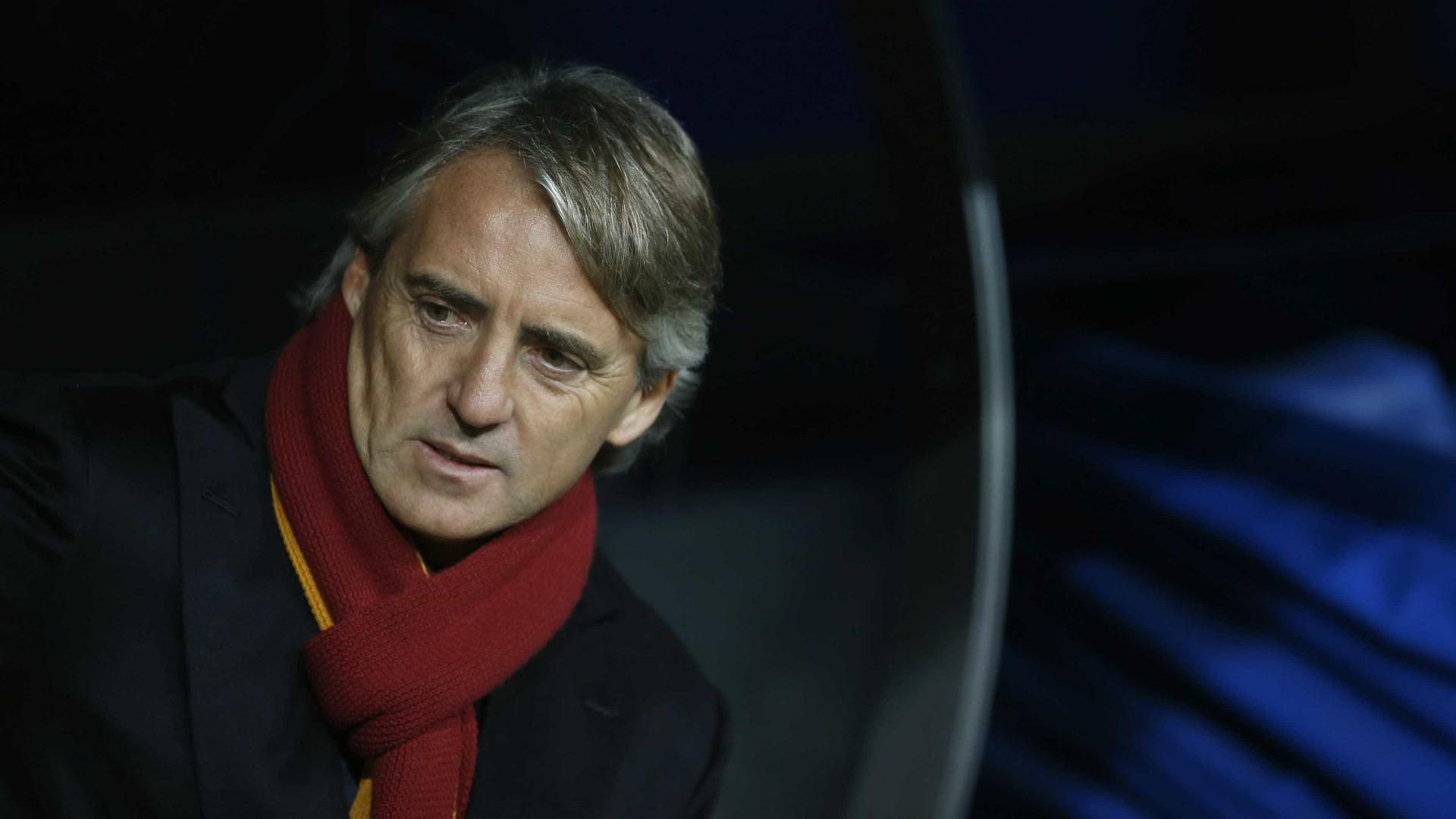 Roberto Mancini deixa o Zenit e fica próximo da seleção italiana