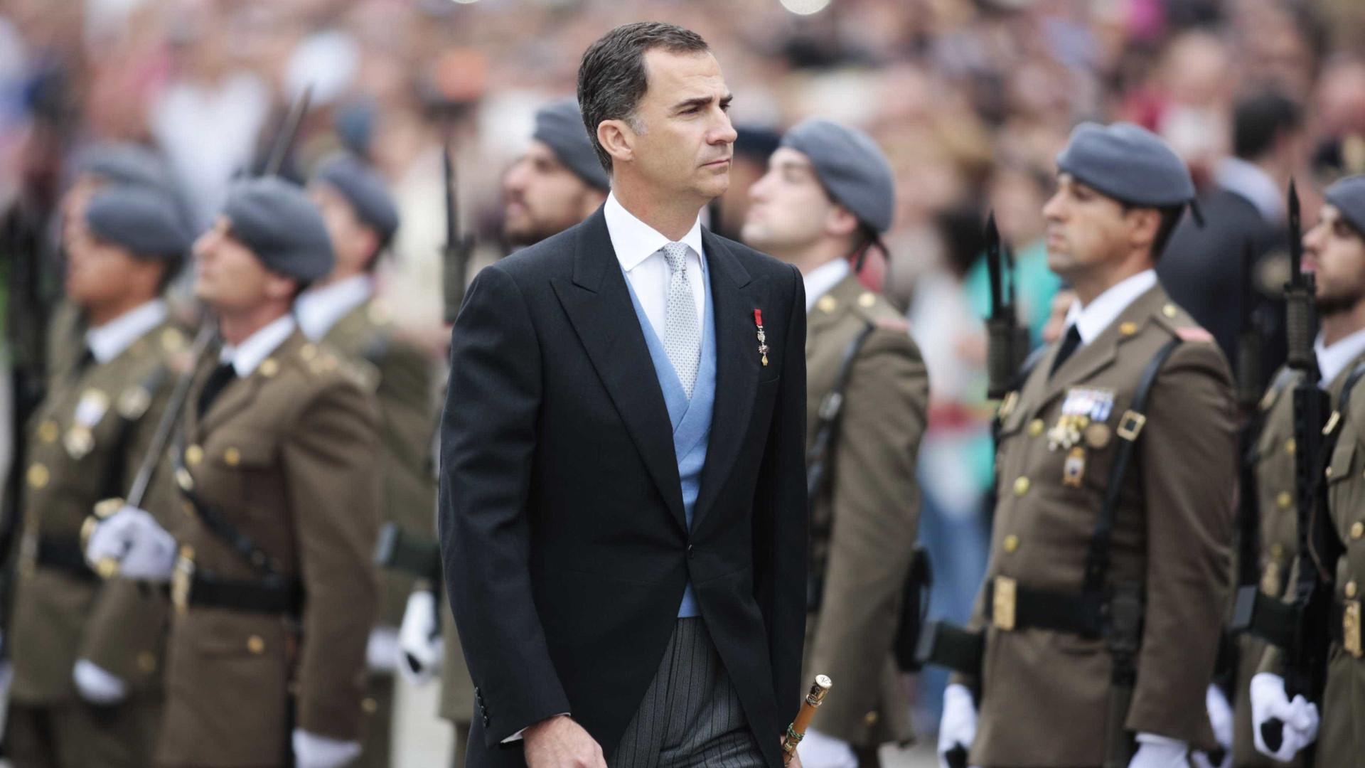 Nova Monarquia espanhola despede-se de luxos