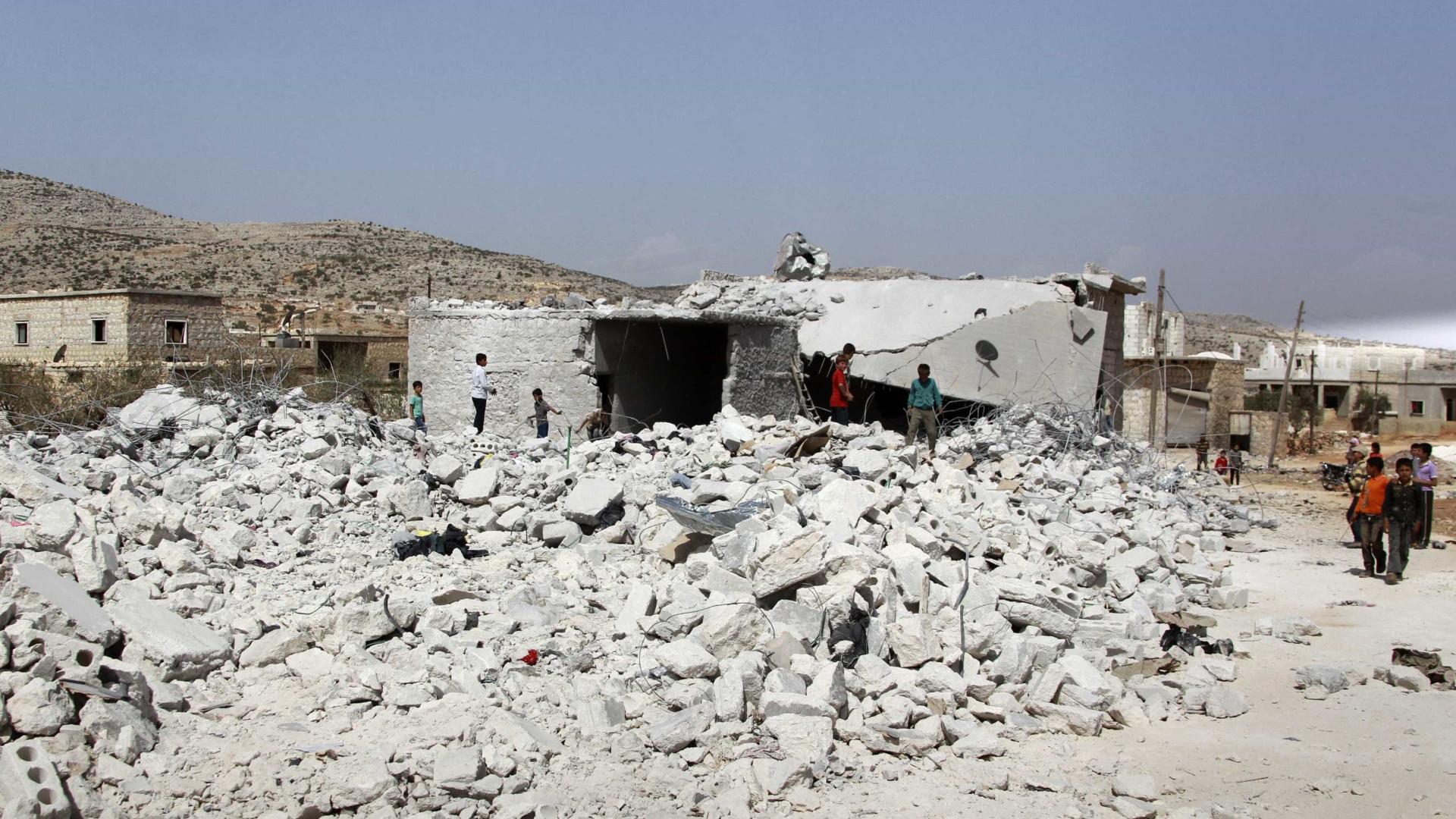 Damasco pede aos Estados Unidos que retirem as suas tropas da Síria