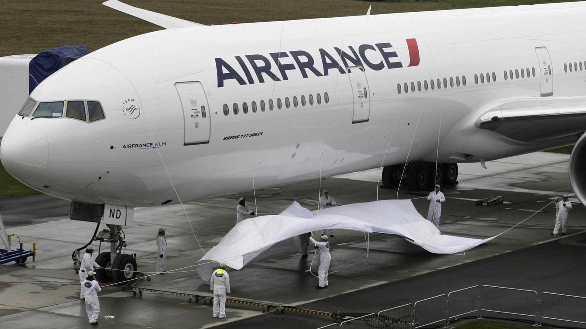 Air France anula 30% dos voos programados para terça-feira devido à greve