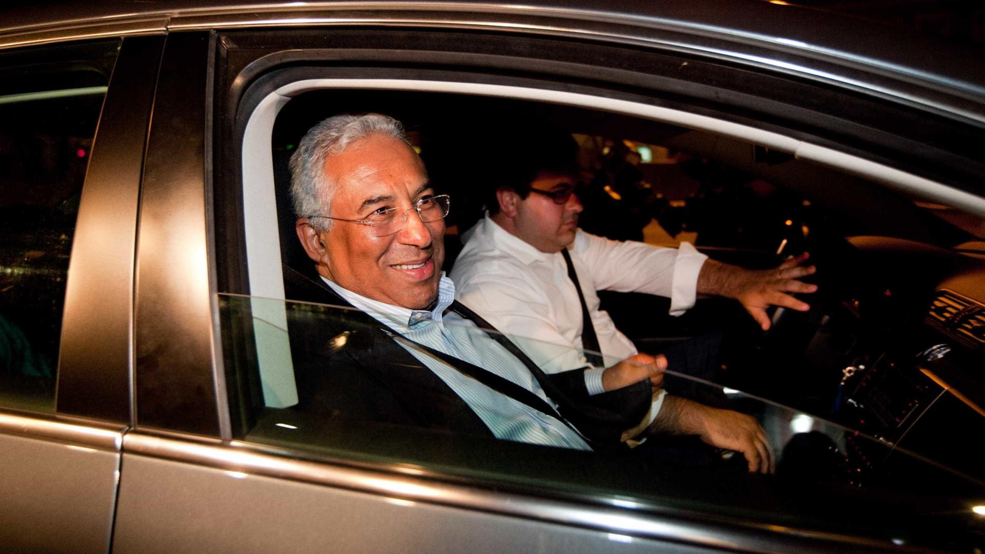 Costa felicita Rui Rio e deseja-lhe felicidades da liderança da oposição