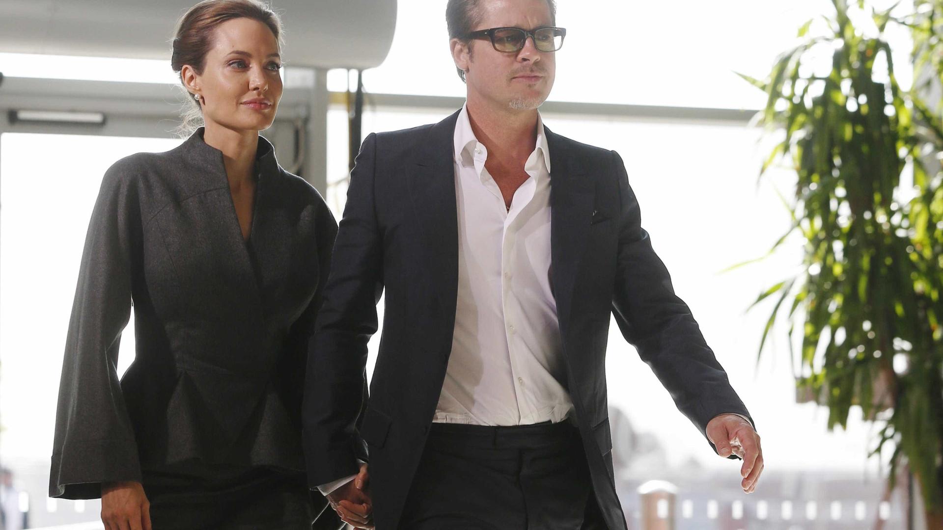 8bddd084183 Notícias ao Minuto - Angelina Jolie ofereceu ao marido relógio de 2 ...
