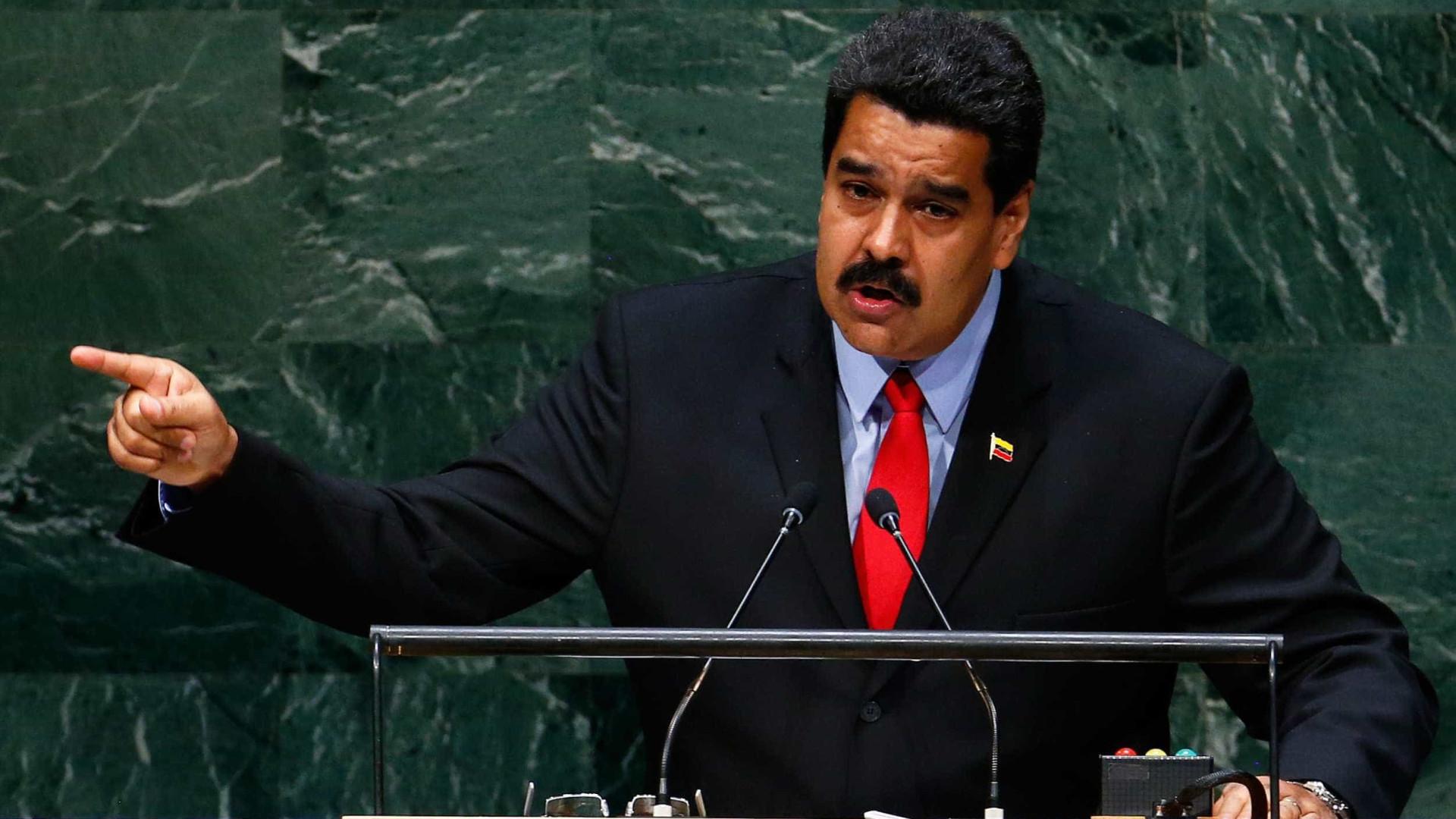 Maduro diz a Donald Trump que tire as mãos da Venezuela e vá para casa