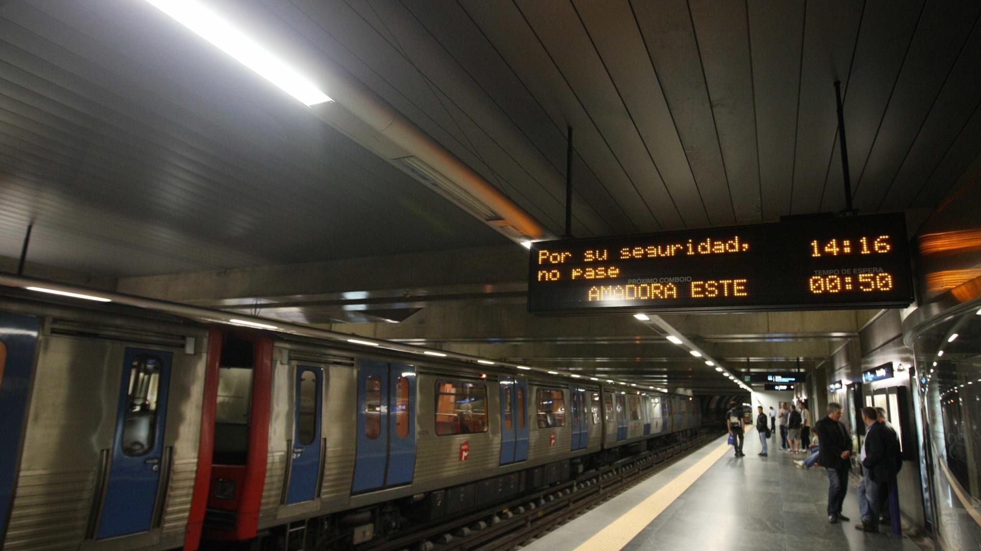 Deputados do PCP querem 30 novos maquinistas no Metropolitano de Lisboa