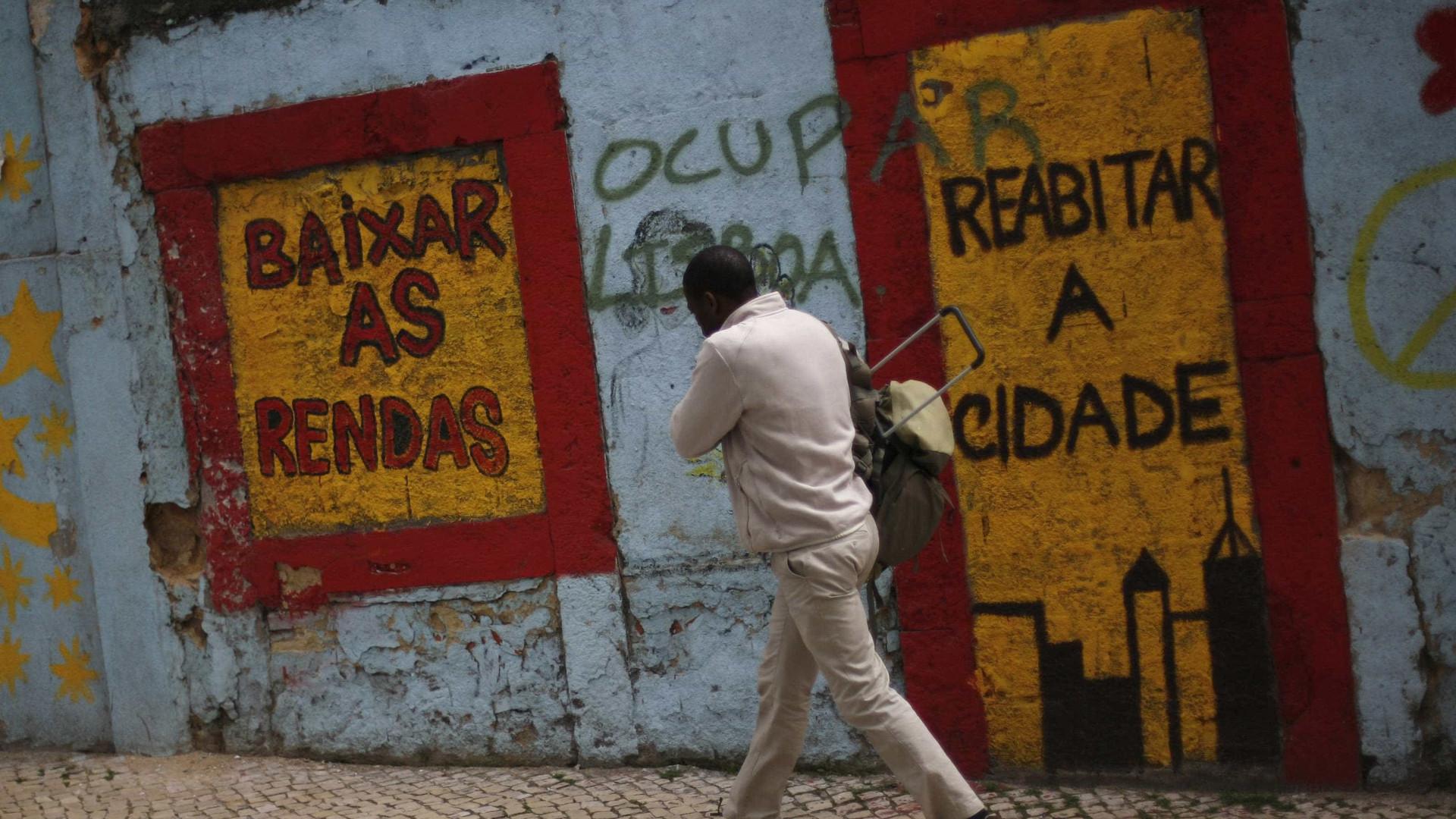 Bloco critica problemas no arrendamento, PSD cola bloquistas a Salazar