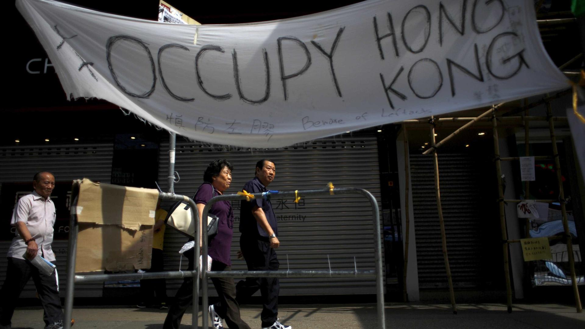 Deputados independentistas de Hong Kong perdem recurso