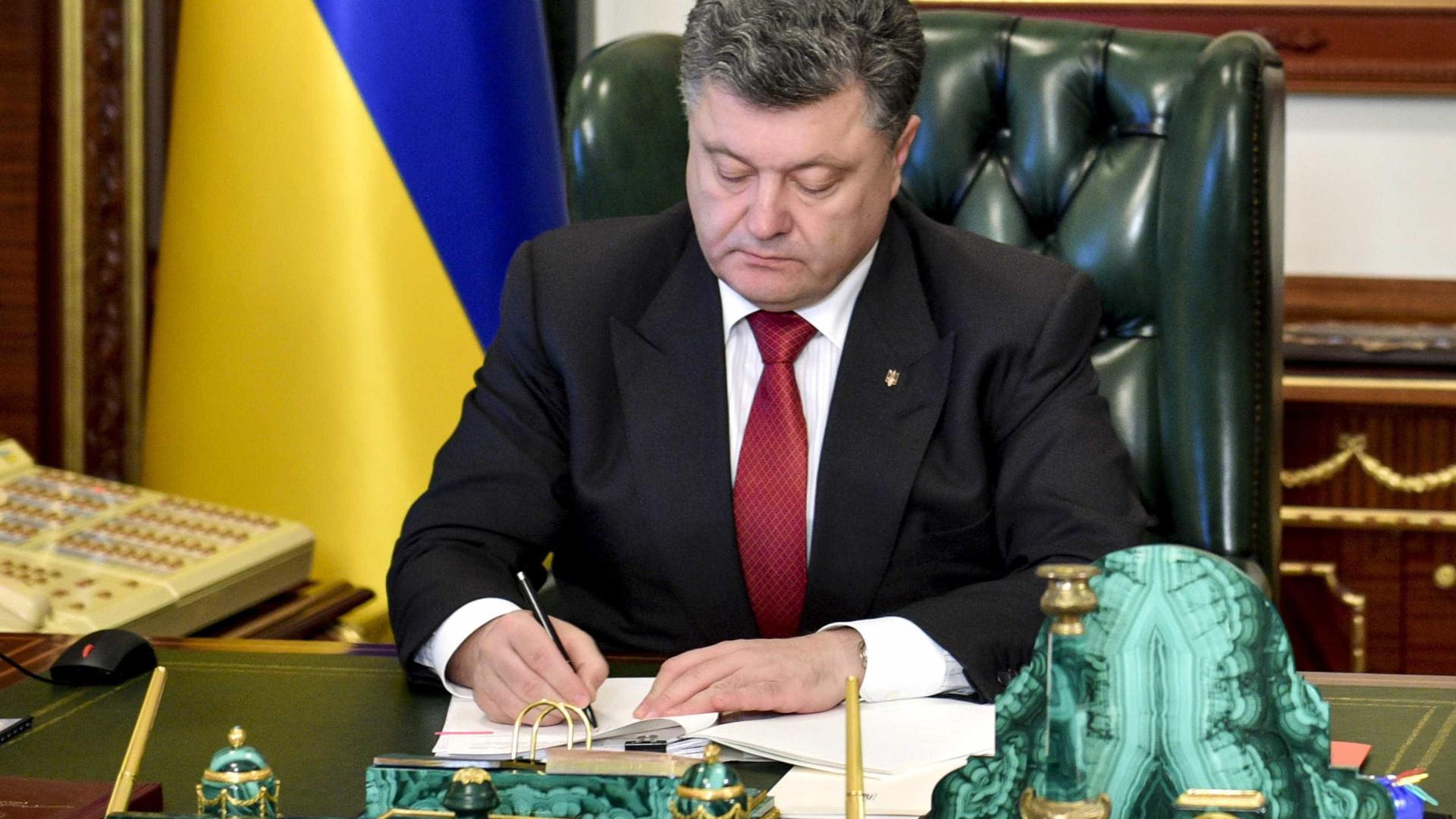 Poroshenko considera gasoduto Nord Stream II um projeto político