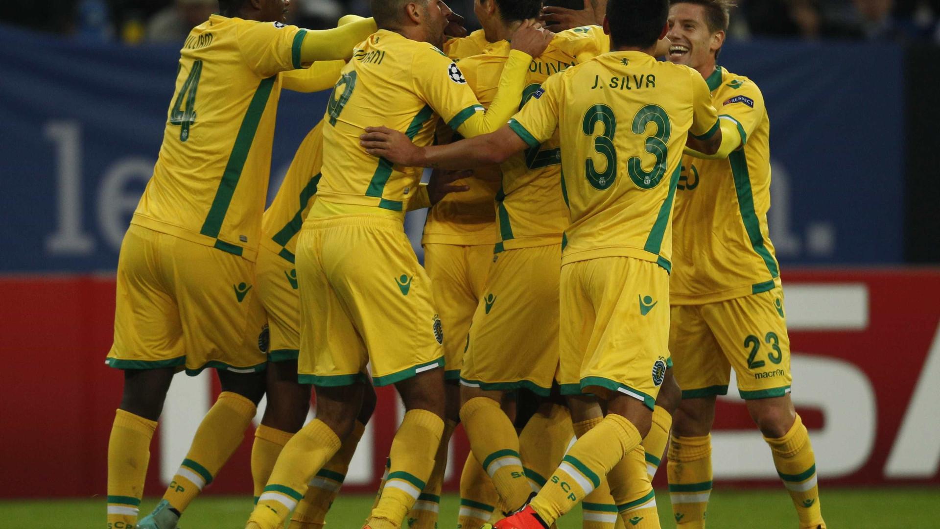 O Sporting entrou com o  pé esquerdo  na edição 2014 15 da I Liga de  futebol d2aba61143a65
