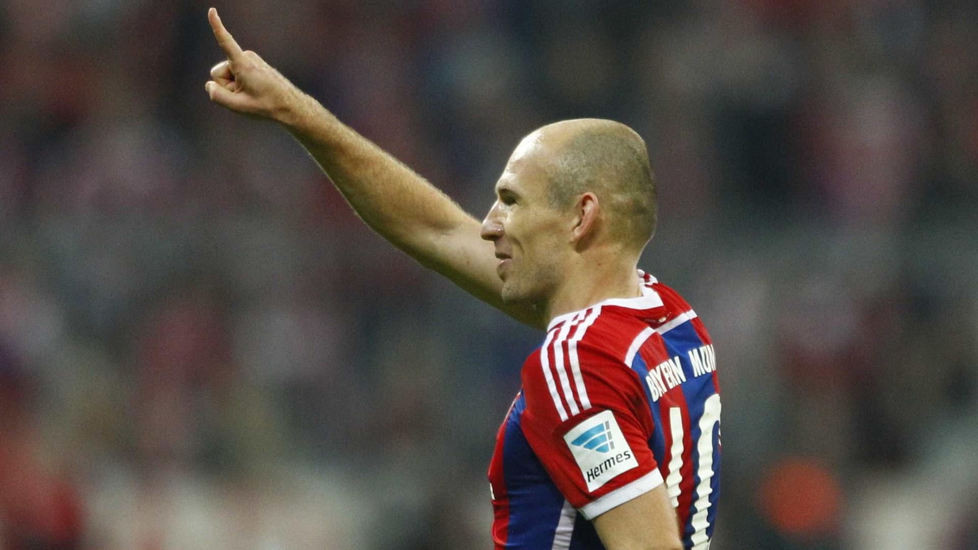 Robben escolhe o seu melhor onze de sempre... sem Ronaldo e Messi