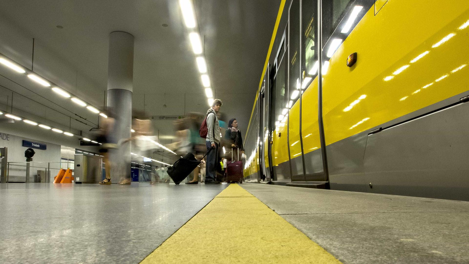 """Greve no Metro do Porto. Sindicato fala em """"caos"""""""