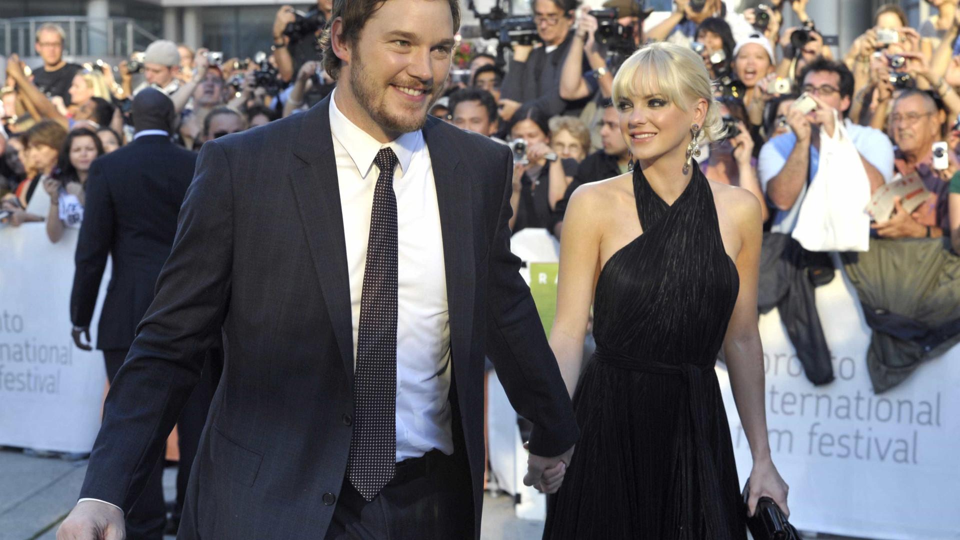 Chris Pratt e Anna Faris anunciam separação após 8 anos