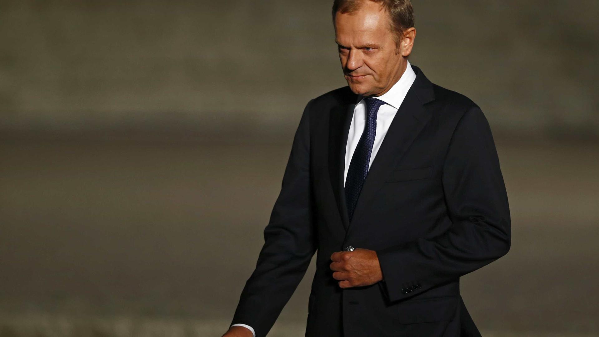 """Tusk aconselha Trump a ter bem em mente quem é """"o melhor aliado"""" dos EUA"""