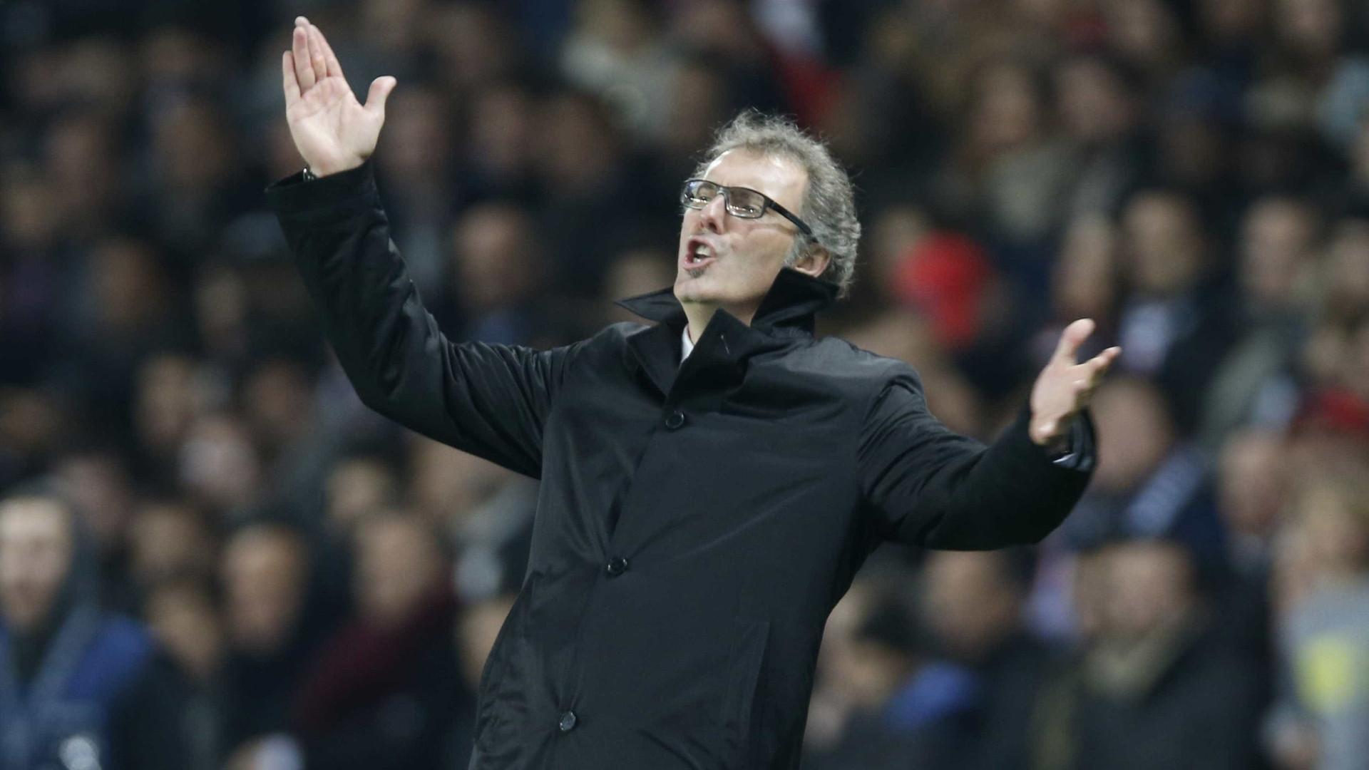 """Blanc e o problema do PSG na Europa: """"Sabes que és campeão em fevereiro"""""""