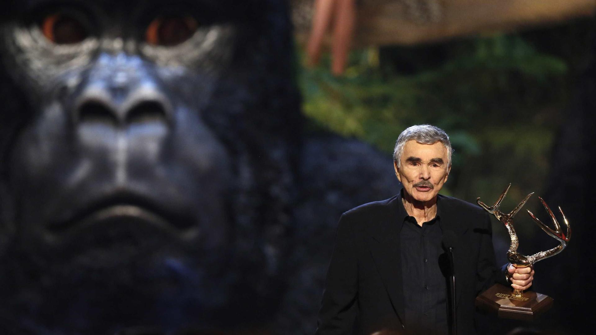 Burt Reynolds, uma lenda de Hollywood, morreu aos 82 anos
