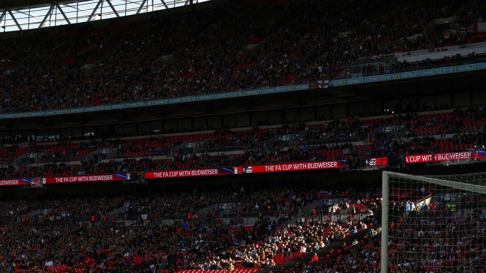 UEFA substitui estádio de Bruxelas por Wembley nos palcos do Euro2020