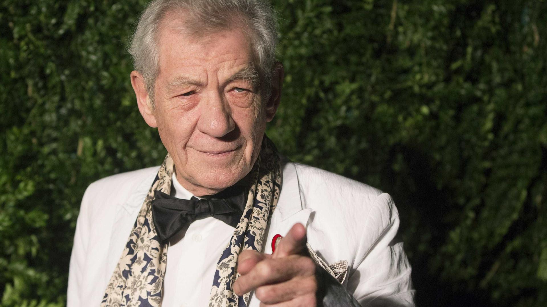 Aos 78 anos, Ian McKellen revela que já tem o seu funeral pensado