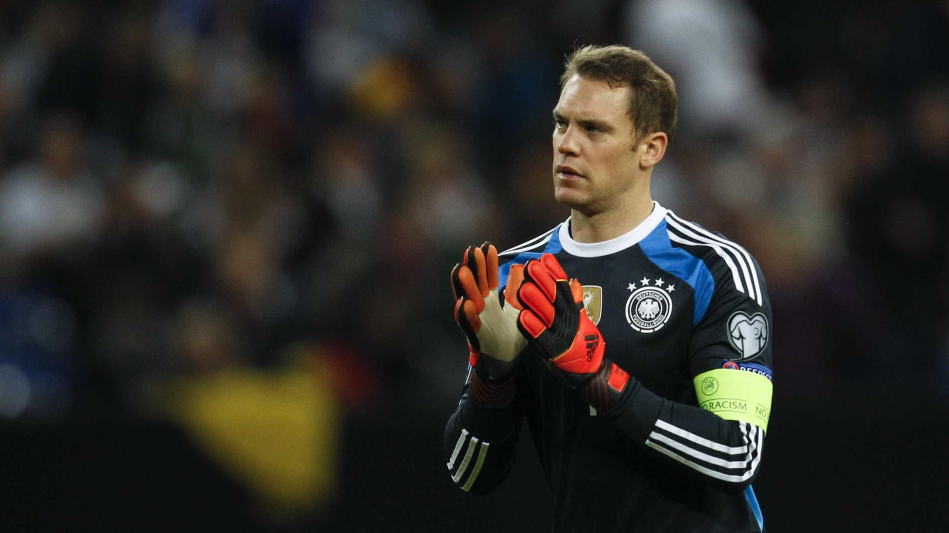 Neuer dispensado da seleção alemã devido a lesão