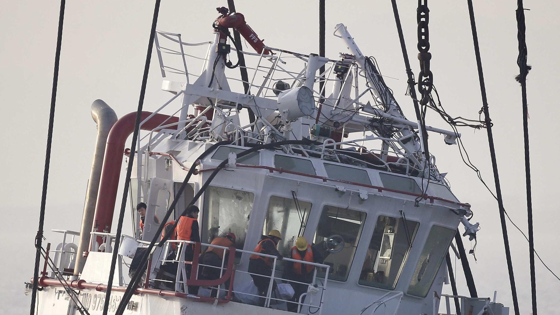 """Busca por pescadores desaparecidos """"adaptada para o período noturno"""""""