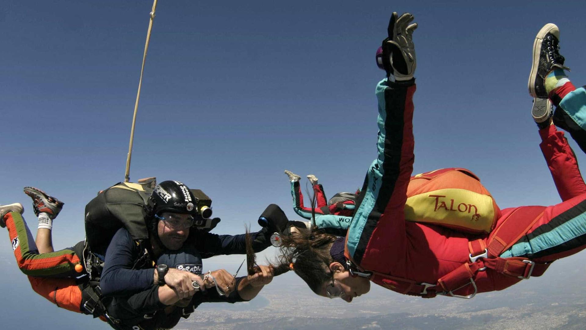 Paraquedista ficou tetraplégico. O caso vai para Tribunal Constitucional