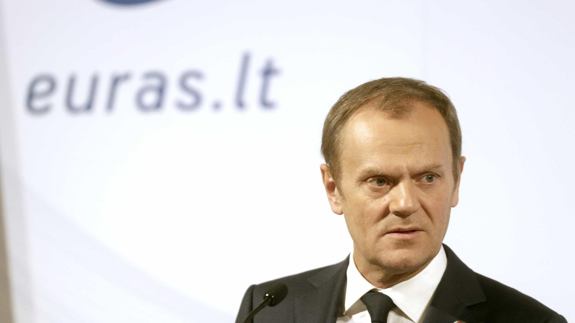 Tusk anuncia cimeira extraordinária sobre o Brexit em novembro