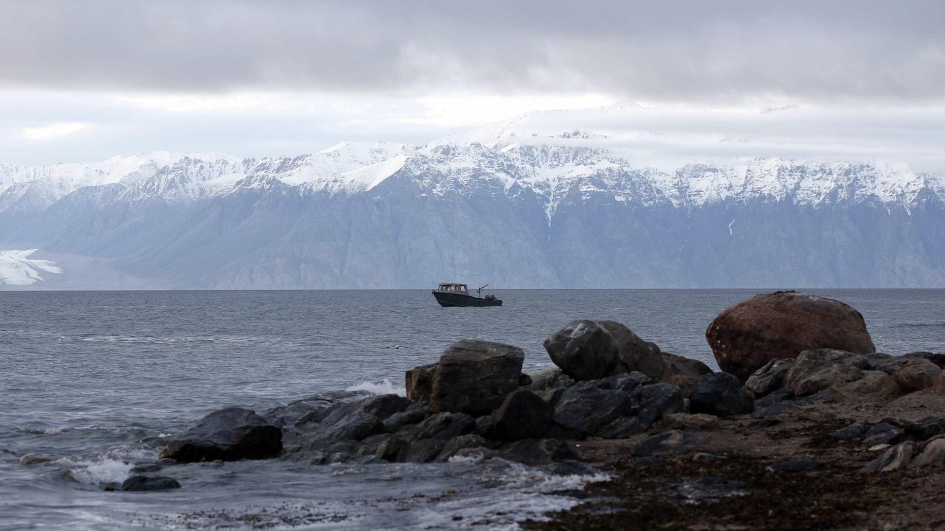 Crescimento do gelo no Ártico está em queda para esta época do ano