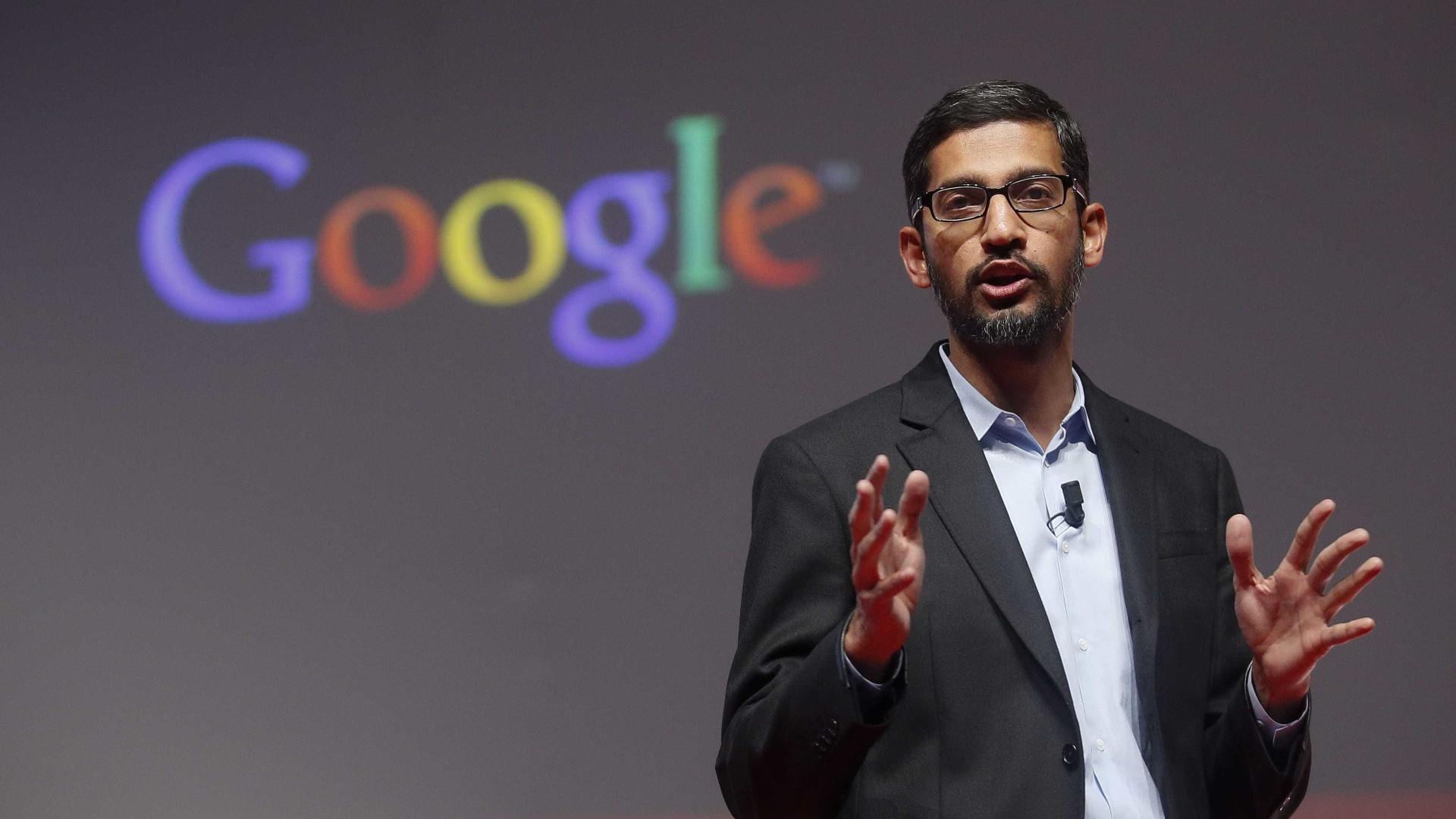 """CEO da Google condena """"terrorismo concebido para nos dividir"""""""