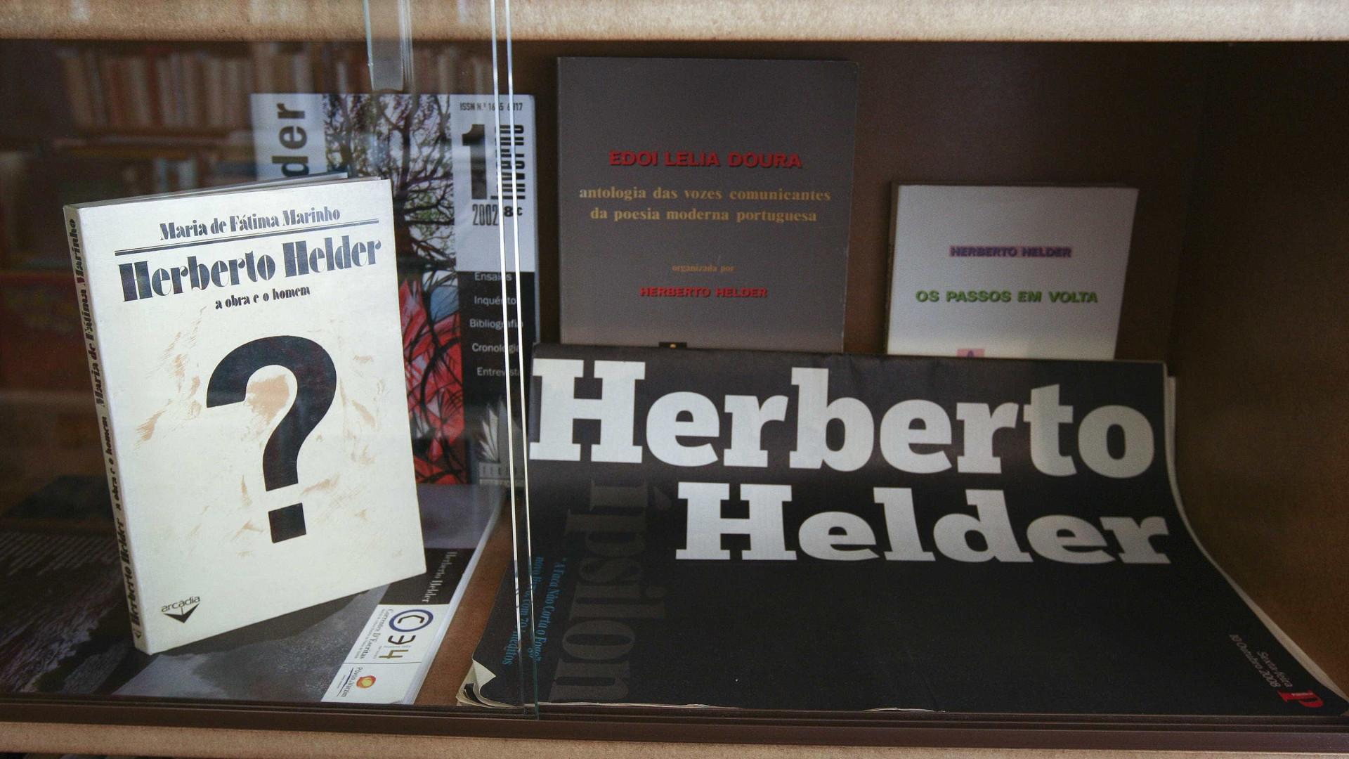 Universidade de Turim dedica o dia a Herberto Helder