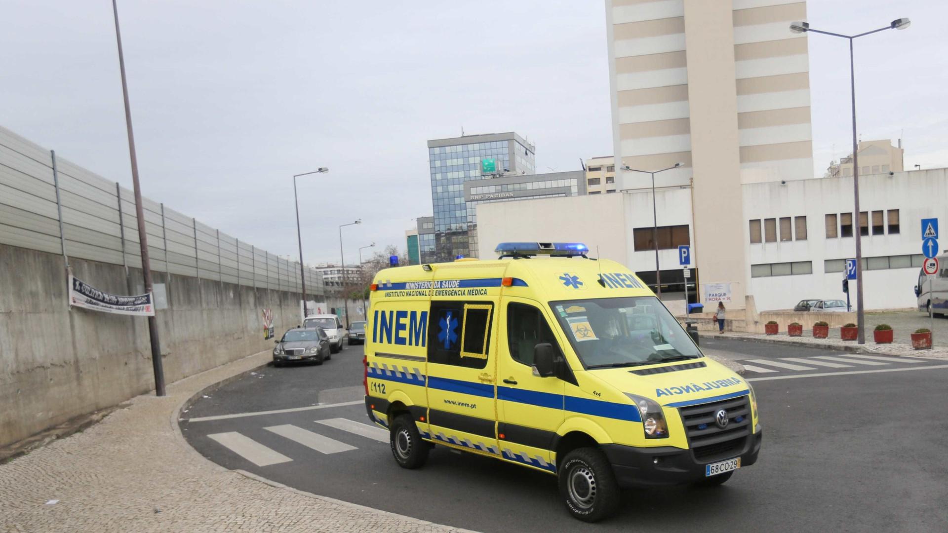Mulher e homem atropelados no centro do Porto
