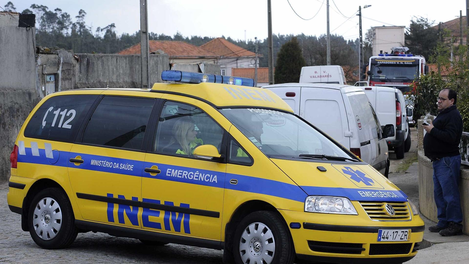 Um morto e um ferido ligeiro em acidente de viação em Loures