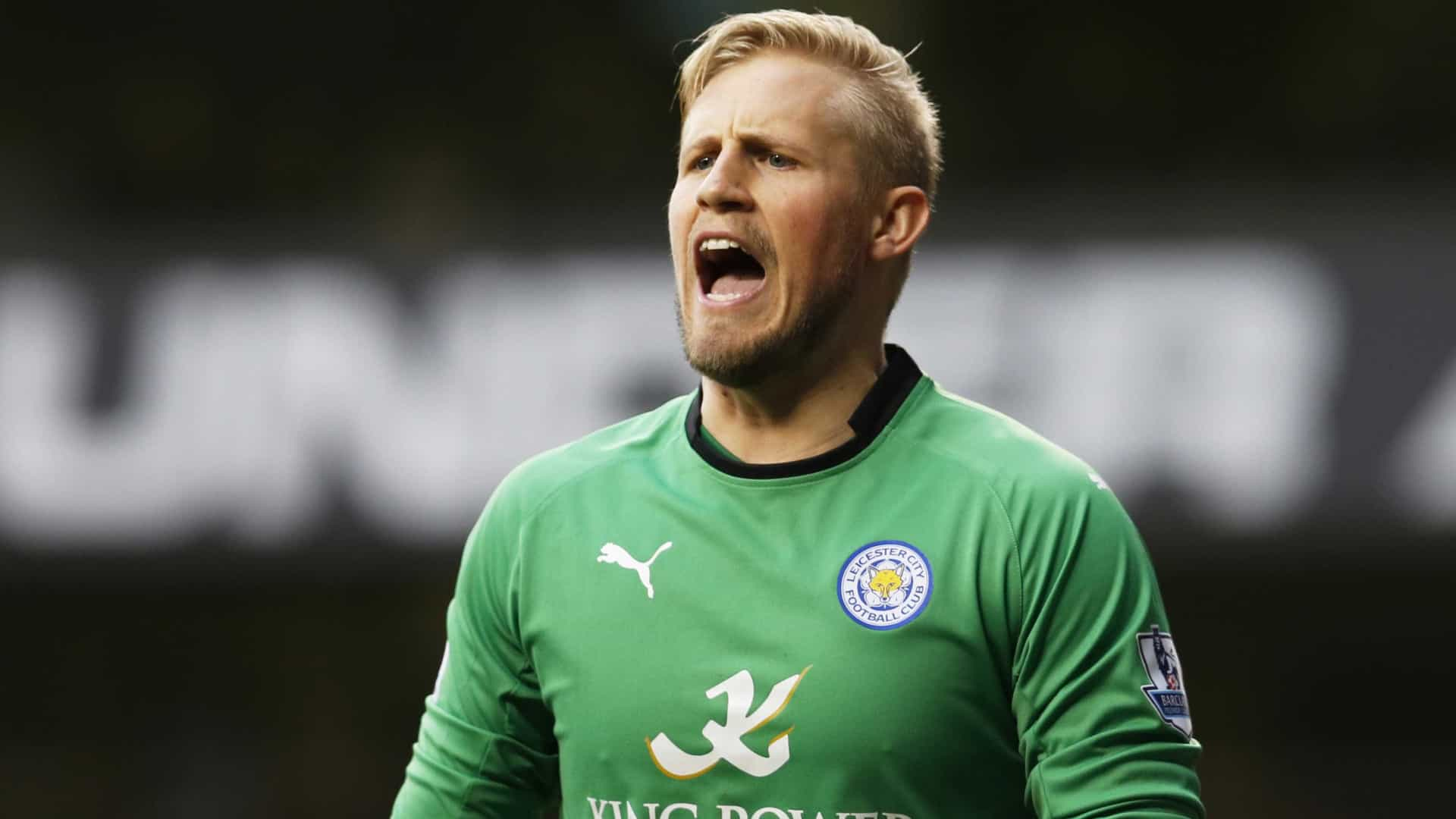 Kasper Schmeichel poderá trocar Leicester City por 'tubarões' europeus
