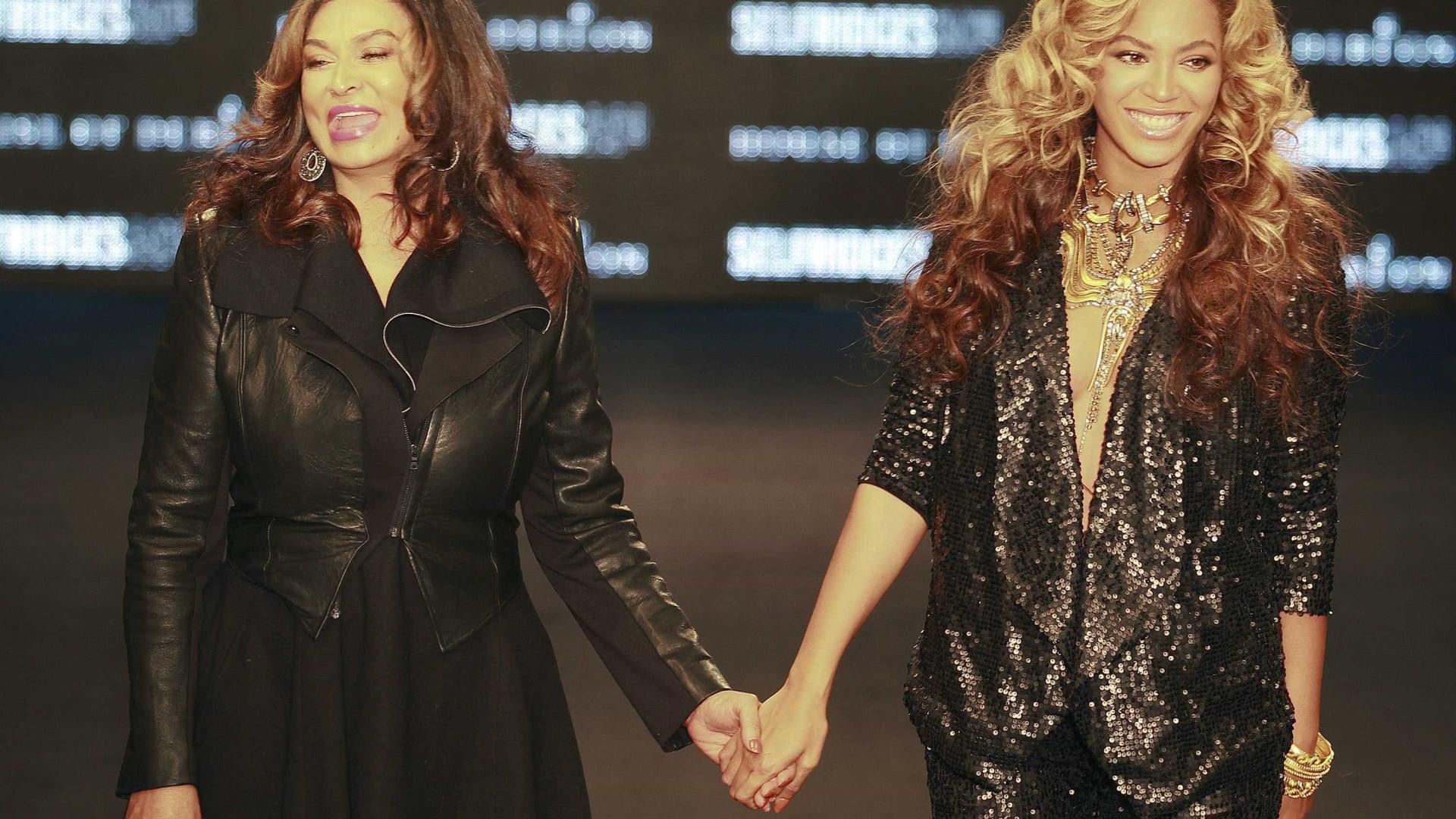 Mãe de Beyoncé desmentiu nascimento dos netos?