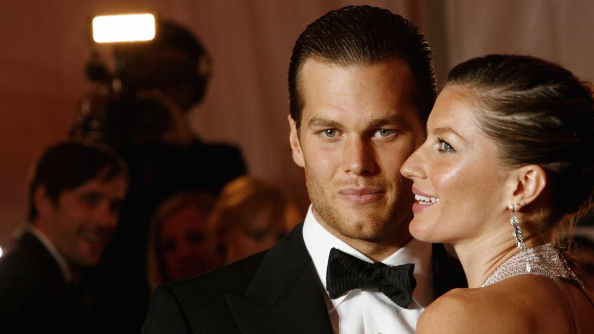 Filha de Tom Brady esteve a apoiar o pai